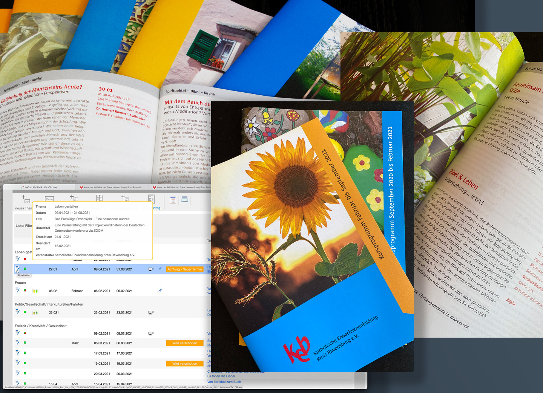 Bild:Daten zentral erfassen und mit minimalem redaktionellem Aufwand für die Gestaltung der Printvorlage aufbereiten